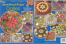 The Needlecraft Shop Plastic Canvas Sensational Shape Doilies