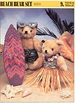 Annie's International Plastic Canvas Club: Beach Bear Set