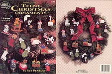 ASN Plastic Canvas Teeny Christmas Ornaments