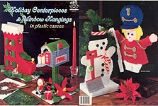Mangelsen Holiday Centerpieces & Window Hangings in Plastic Canvas
