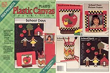 Plaid's Plastic Canvas Collection: School Days
