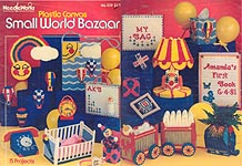 NeedleWorks Plastic Canvas Small World Bazaar