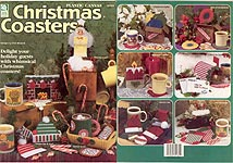 HWB Plastic Canvas Christmas Coasters