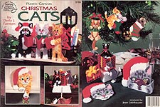 ASN Plastic Canvas Christmas Cats