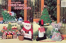 ASN Plastic Canvas Christmas Doorstops