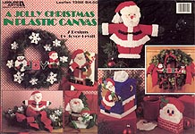 LA A Jolly Christmas in Plastic Canvas