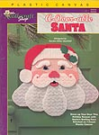 TNS Plastic Canvas A-Door-Able Santa