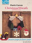 Nifty Publishing Plastic Canvas Christmas Wreath & Ornaments