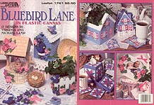 LA Bluebird Lane in Plastic Canvas