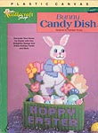 TNS Plastic Canvas Bunny Candy Dish