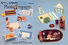 Kappie Plastic Treasures Table Toppers
