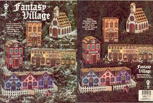 Suzanne McNeill Plastic Canvas Fantasy Village
