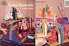ASN Animal Bookends in Plastic Canvas