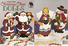 Annie's Attic Plastic Canvas Christmas Cheer Dolls