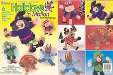 TNS Plastic Canvas Holidays in Motion Wall Hangings