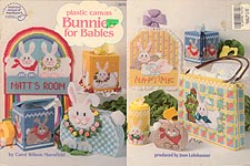 ASN Plastic Canvas Bunnies for Babies