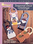 TNS Plastic Canvas Seasonal Door Greetings