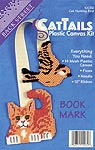 Backstreet Designs CatTails Cat Hunting Bird Bookmark