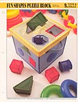 Annie's International Plastic Canvas Club: Fun Shapes Puzzle Block