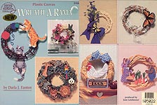 ASN Plastic Canvas Wreath- A- Rama