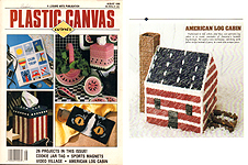 Plastic Canvas Corner, August 1990