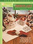TNS Plastic Canvas Snowflake Hostess Set