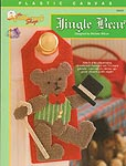 TNS Plastic Canvas Jingle Bear