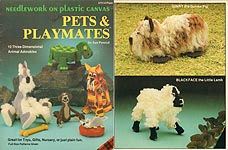 Plaid Ent. Needlework on Plastic Canvas: Pets & Playmates