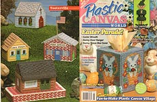 Plastic Canvas World, March 1996