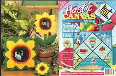 Plastic Canvas World, July 1996