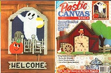 Plastic Canvas World, September 1996