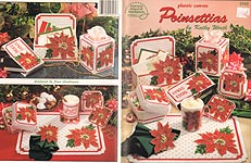 ASN Plastic Canvas Poinsettias