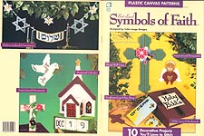HWB Plastic Canvas Best Loved Symbols of Faith