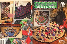 Annie's Attic Plastic Canvas Rag Rug Quilts