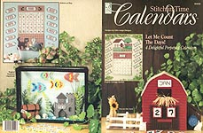 HWB Plastic Canvas Stitch in Time Calendars