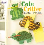 Annie's lastic Canvas Cute Critters Note Holders