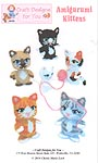 Craft Designs for You Plastic Canvas Amigurumi Kittens