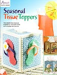 Annie's Plastic Canvas Seasonal Tissue Toppers