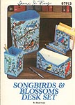 Annie's Attic Songbirds & Blossoms Desk Set