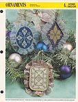 Annie's International Plastic Canvas Club: Ornaments