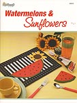 TNS Plastic Canvas Watermelons & Sunflowers