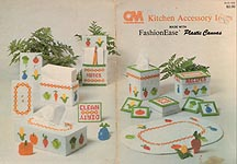 CM Columbia- Minerva Kitchen Accessory Ideas Made With Fashion Ease Plastic Canvas