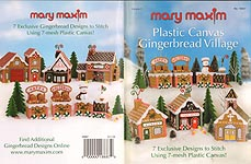 Mary Maxim Plastic Canvas Gingerbread Village, Vol. 1
