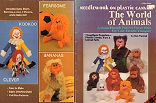Plaid Ent. Needlework on Plastic Canvas: The World of Animals