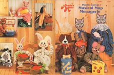 Annie's Attic Plastic Canvas Musical Mop Menagerie