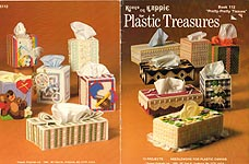 Kappie Originals Plastic Canvas Treasures Book 112: Pretty Pretty Tissues