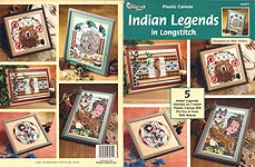 TNS Plastic Canvas Indian Legends in Longstitch