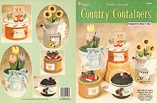 TNS Plastic Canvas Country Containers