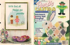 Plastic Canvas World, March 2000