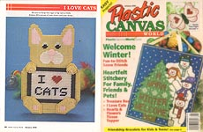 Plastic Canvas World, January 2002